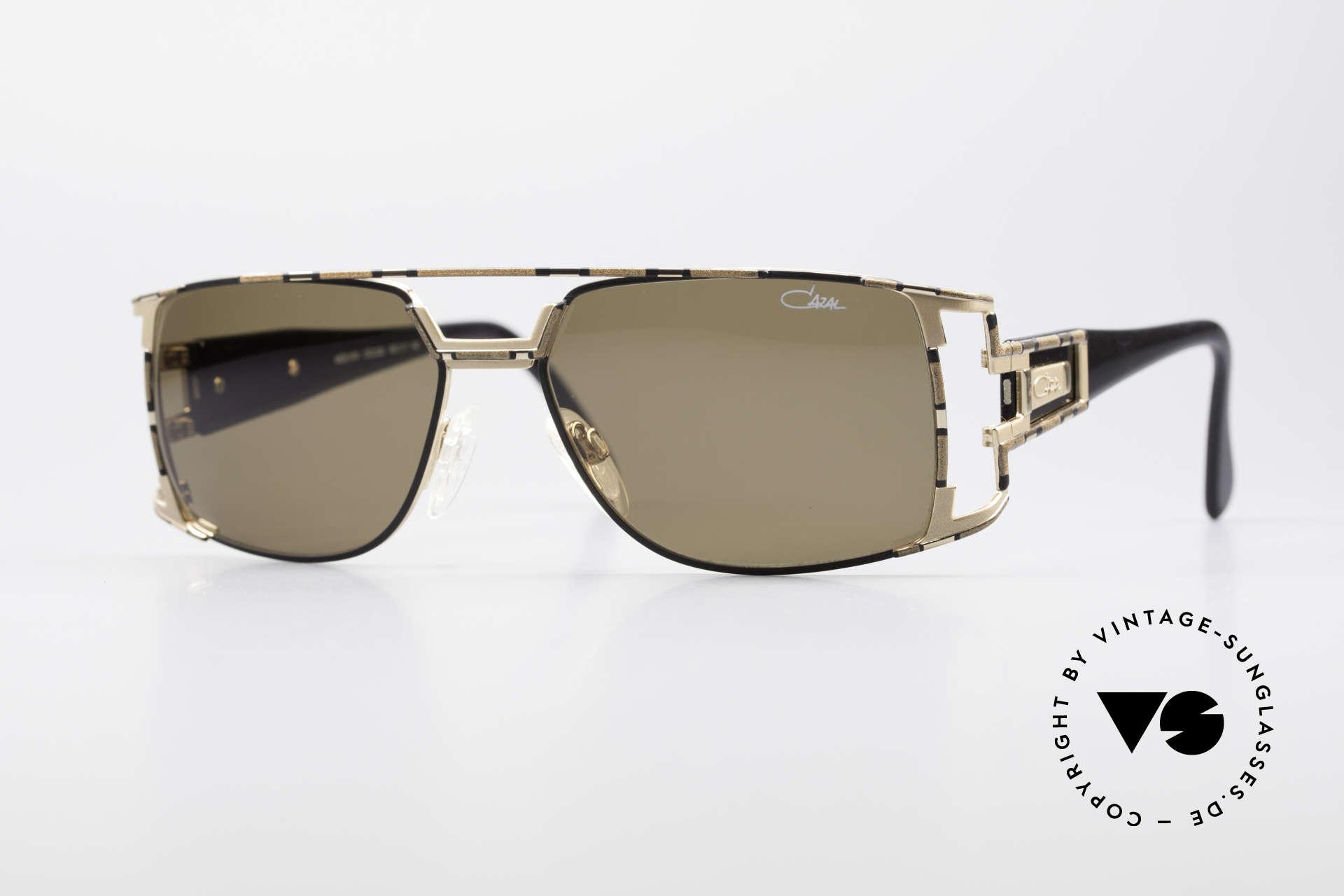 Cazal 974 Unisex Design Damen Herren, vintage CAZAL unisex Designer-Sonnenbrille von 1997, Passend für Herren und Damen
