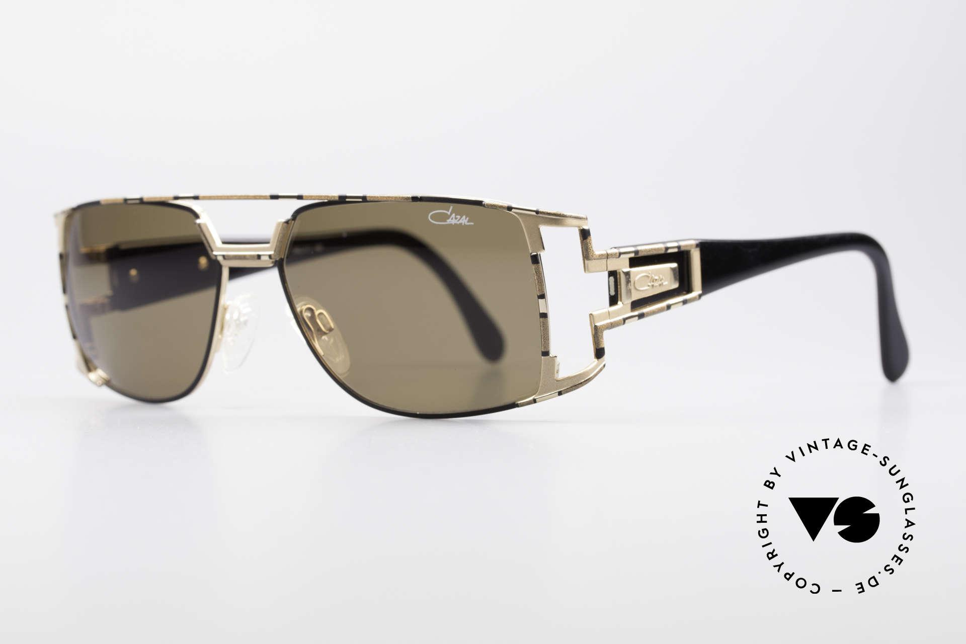 Cazal 974 Unisex Design Damen Herren, zudem sehr elegantes Farbkonzept in bronze und gold, Passend für Herren und Damen