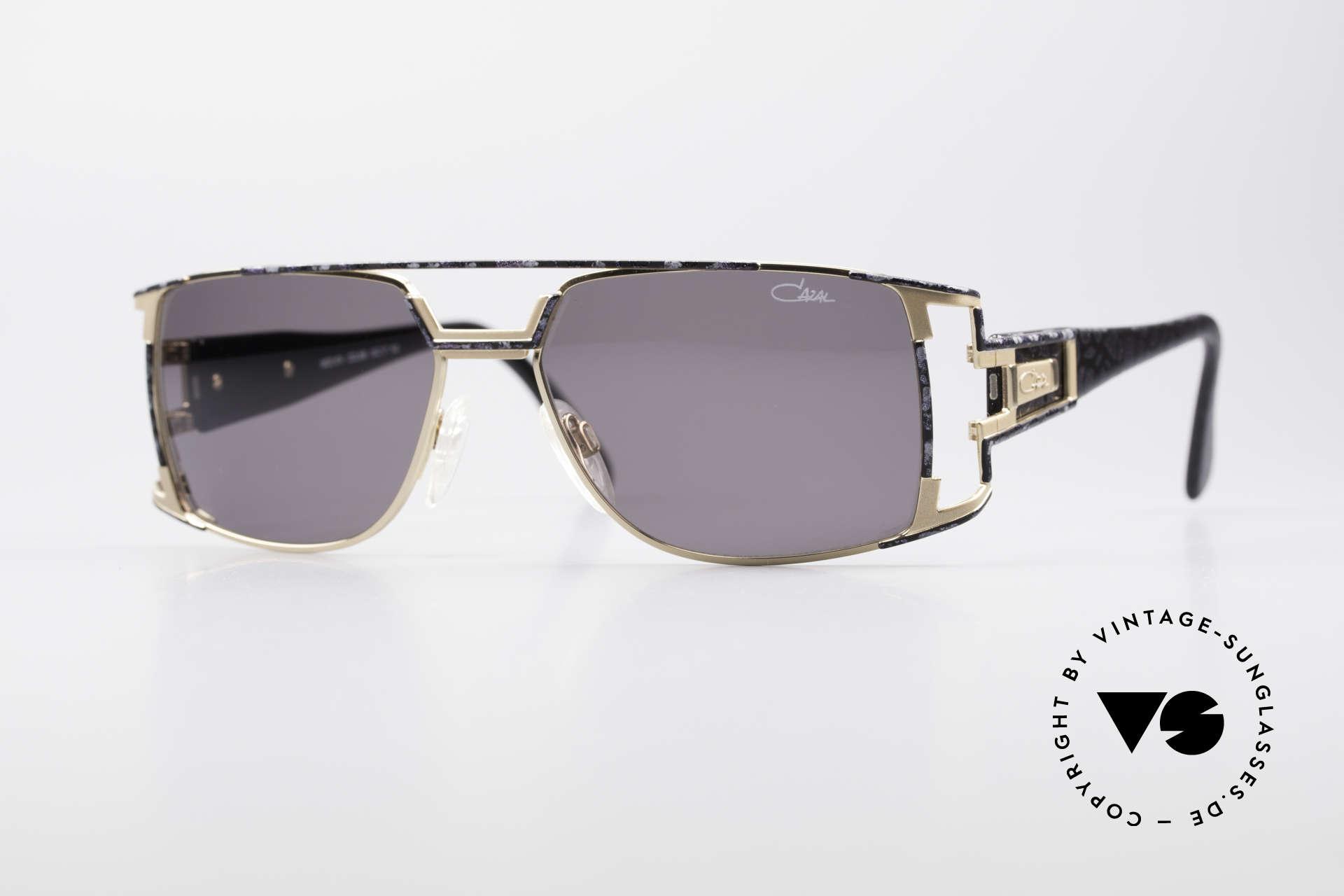 Cazal 974 Unisex Brille Damen Herren, vintage CAZAL unisex Designer-Sonnenbrille von 1997, Passend für Herren und Damen