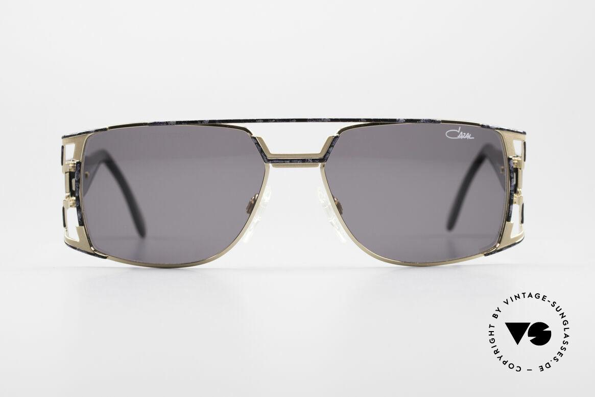 Cazal 974 Unisex Brille Damen Herren, tolle Kombination v. Design-Elementen & Materialien, Passend für Herren und Damen
