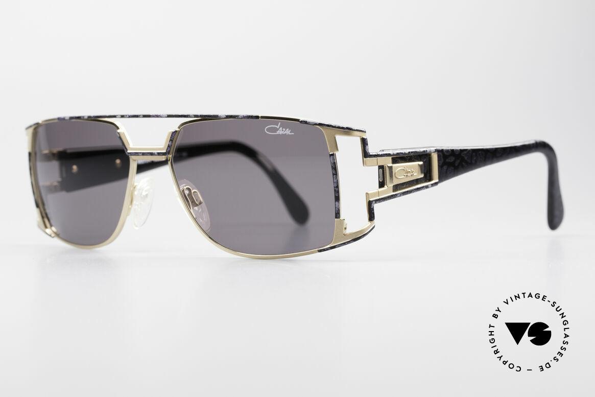 Cazal 974 Unisex Brille Damen Herren, zudem sehr elegantes Farbkonzept in 'violett gefleckt', Passend für Herren und Damen