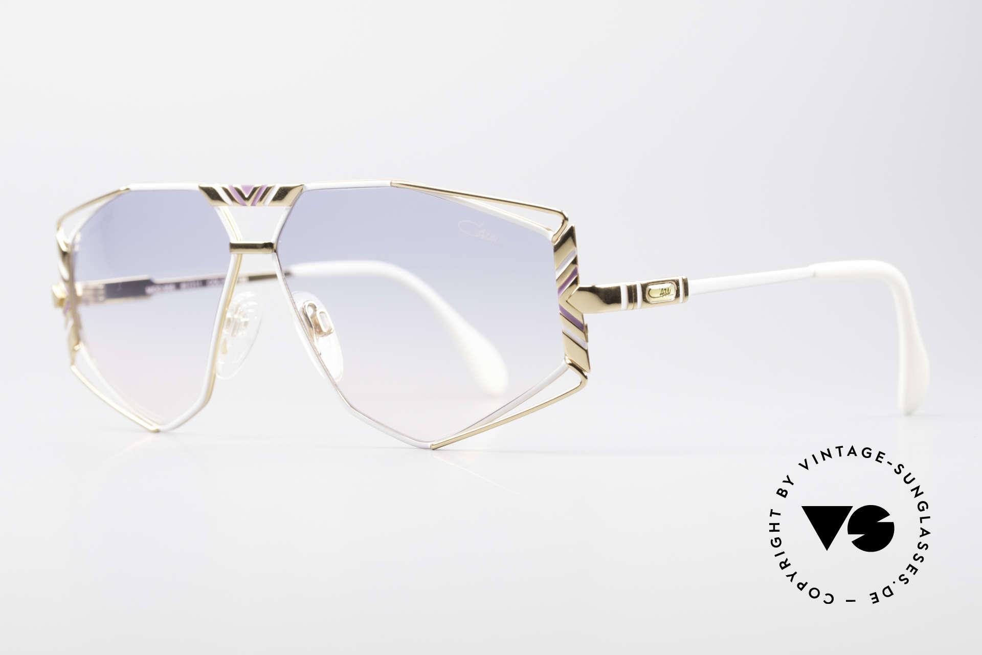Cazal 956 Cari Zalloni Sonnenbrille, Design vom legendären CAri ZALloni (Mr. CAZAL), Passend für Herren und Damen