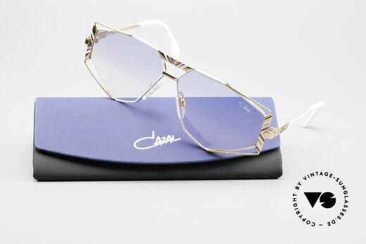 Cazal 956 Cari Zalloni Sonnenbrille, Sonnengläser in blau-pink Verlauf (100% UV prot.), Passend für Herren und Damen