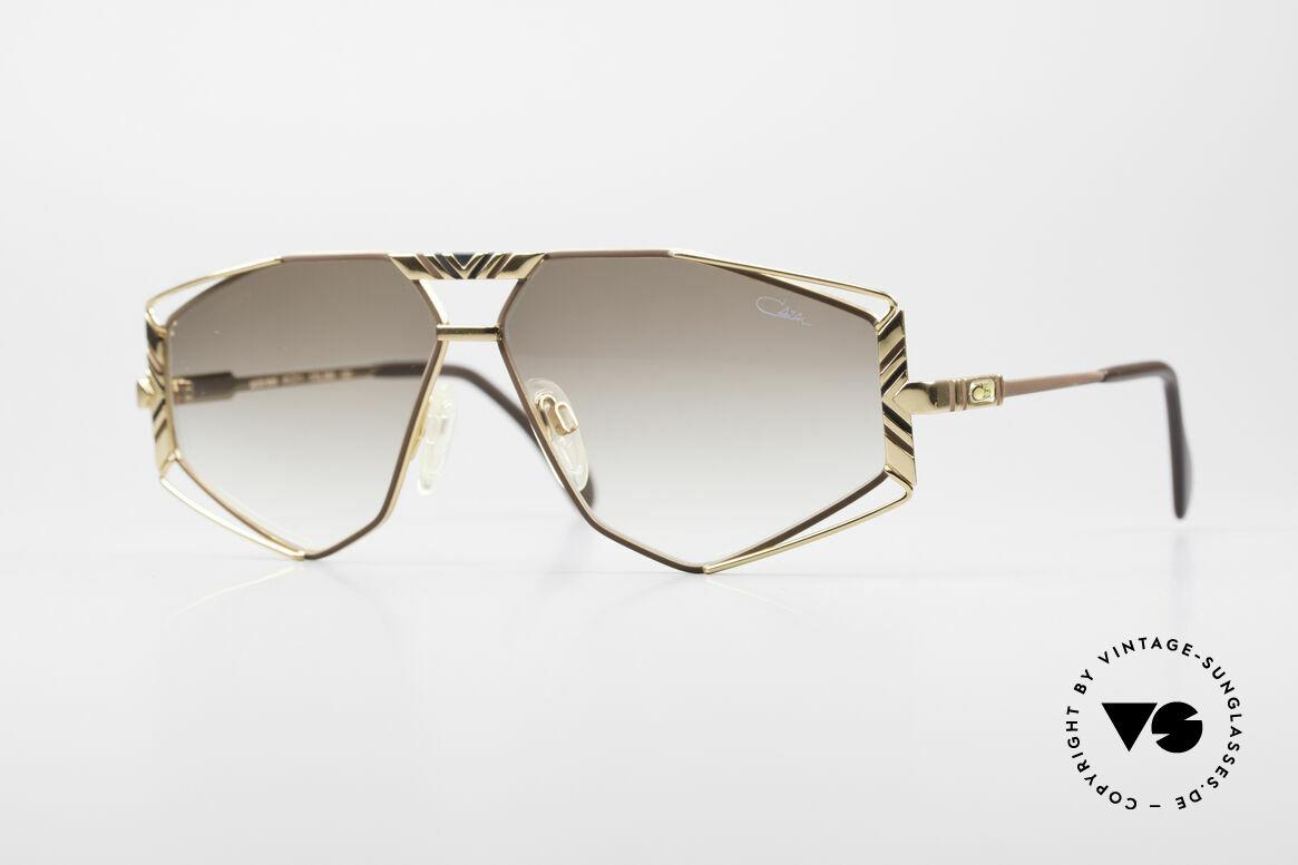 Cazal 956 Cari Zalloni Vintage Brille, künstlerische Cazal Sonnenbrille von ca. 1989/90, Passend für Herren und Damen