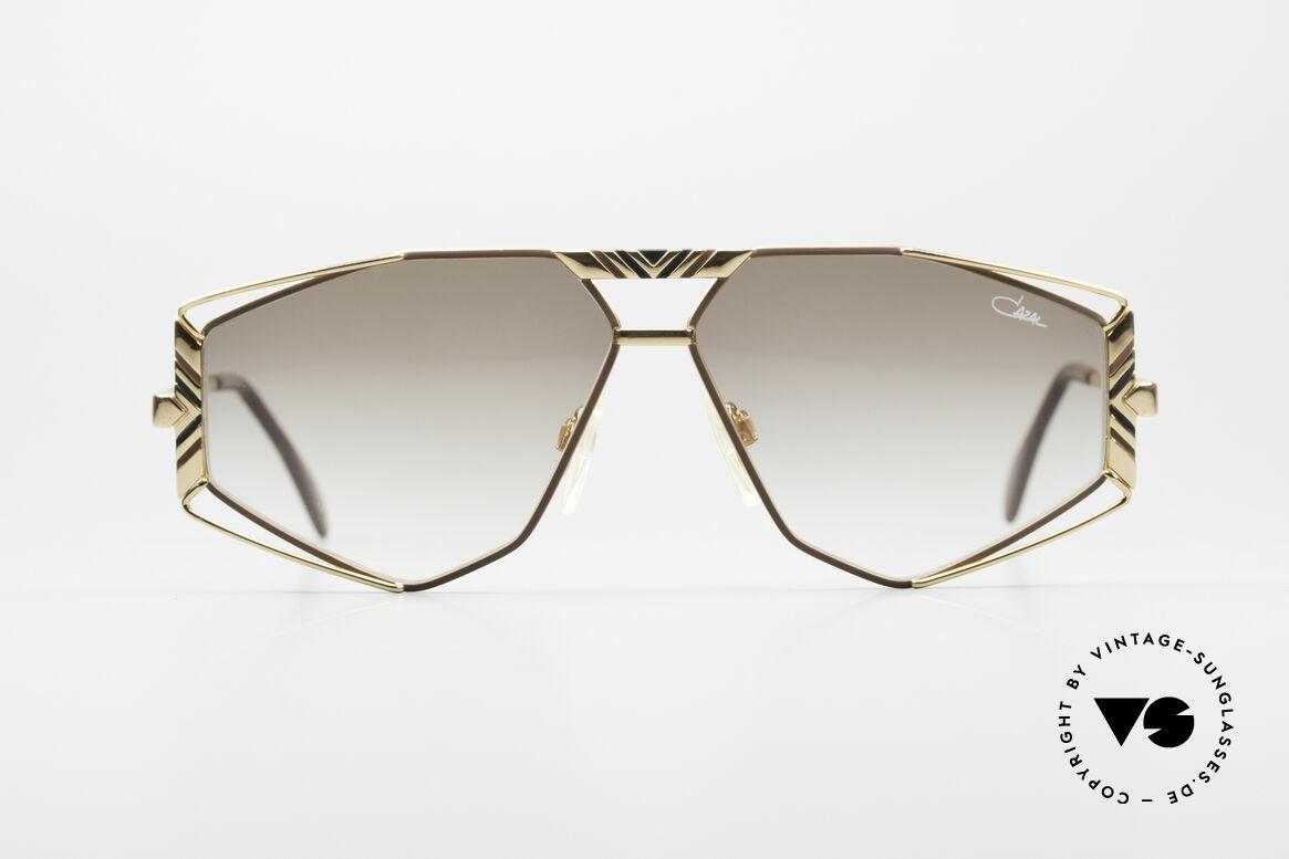 Cazal 956 Cari Zalloni Vintage Brille, ausgefallene Gläserform und viele kleine Details, Passend für Herren und Damen