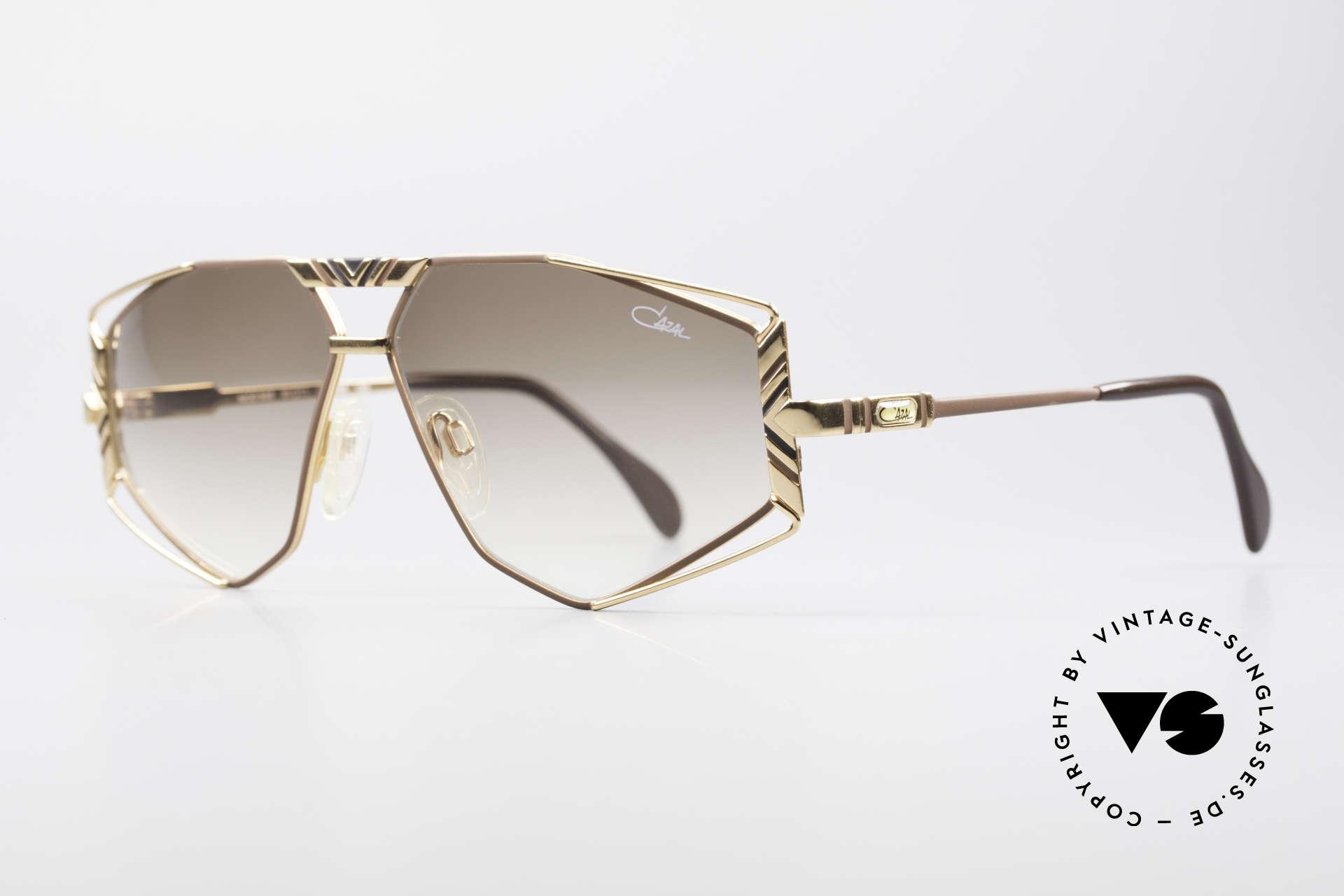 Cazal 956 Cari Zalloni Vintage Brille, Design vom legendären CAri ZALloni (Mr. CAZAL), Passend für Herren und Damen