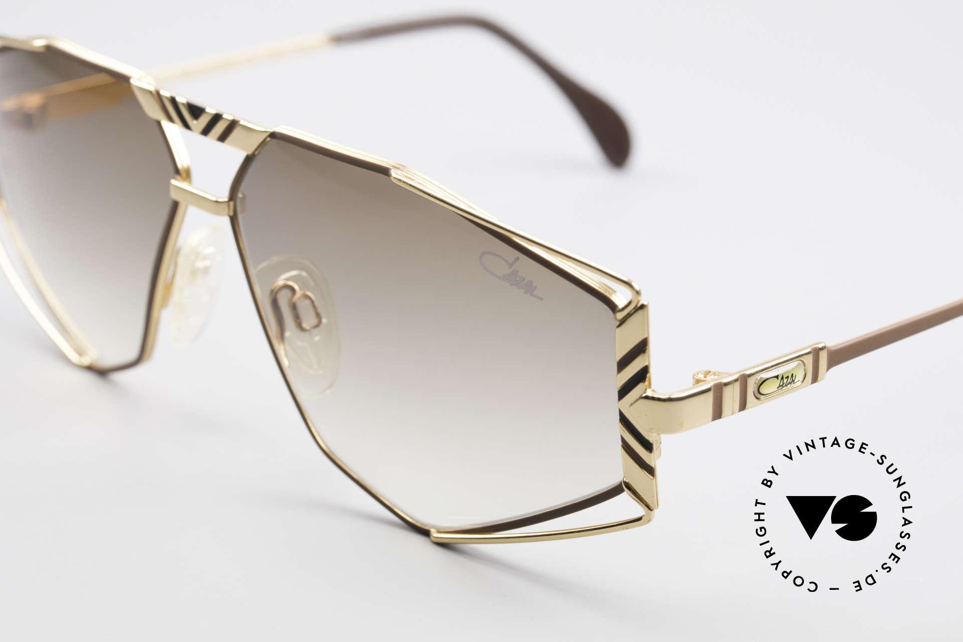 Cazal 956 Cari Zalloni Vintage Brille, ungetragen (wie alle unsere alten CAZAL Brillen), Passend für Herren und Damen