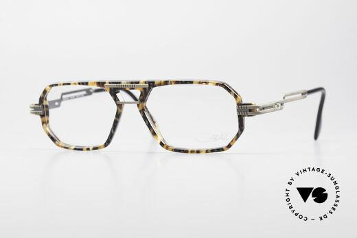 Cazal 651 Rare Vintage Brillenfassung Details