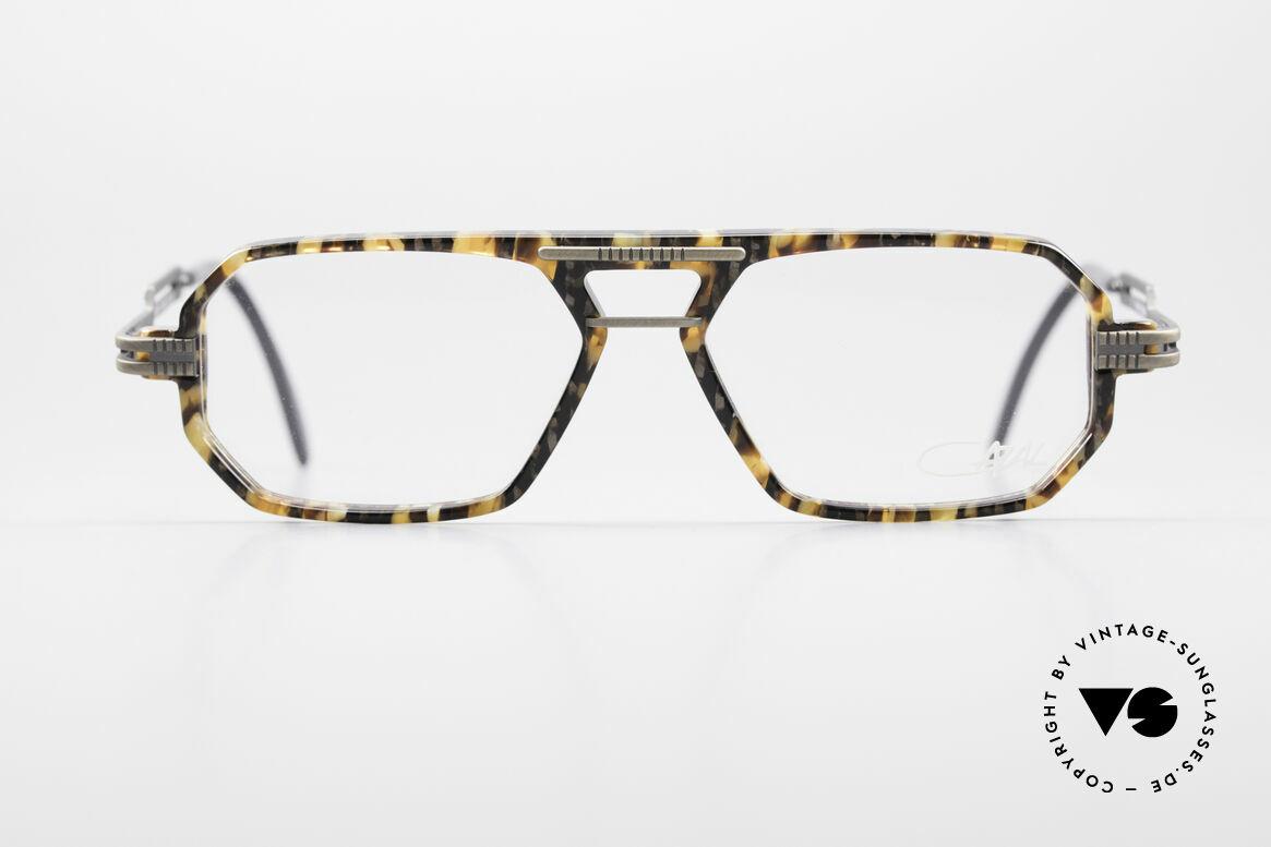 Cazal 651 Rare Vintage Brillenfassung, 90er Jahre Fortführung der legendären 600er Serie, Passend für Herren