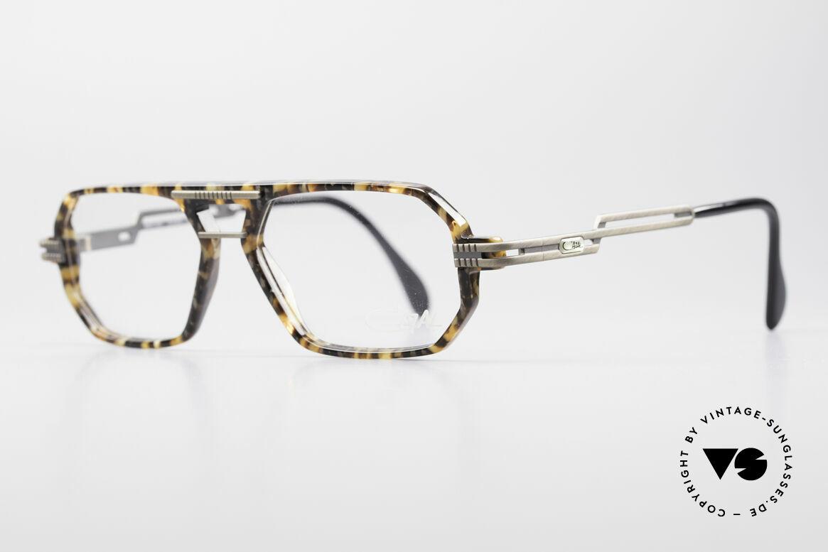 Cazal 651 Rare Vintage Brillenfassung, gebürstete Metallteile an Bügeln und Front, TOP!, Passend für Herren
