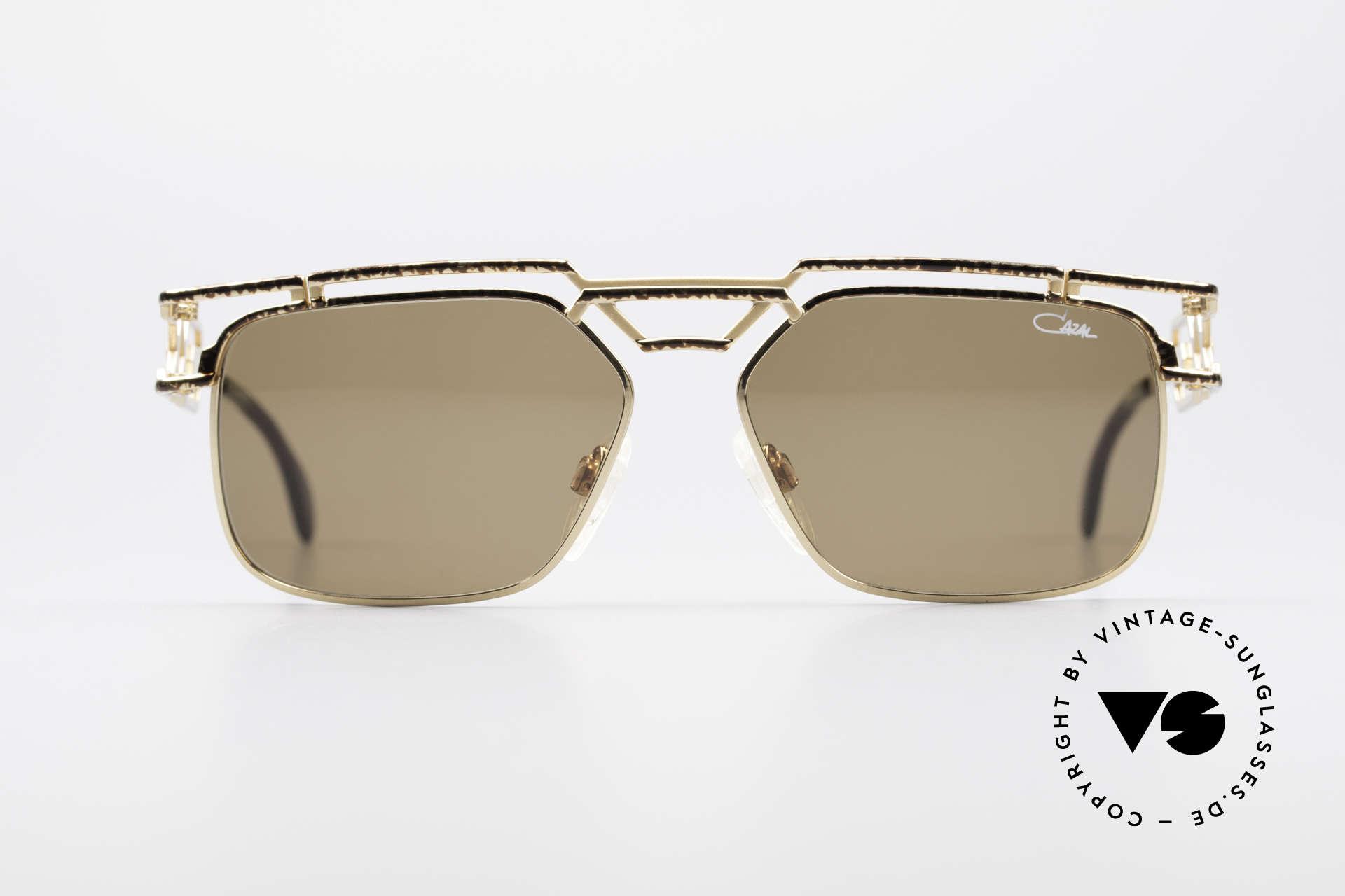 Cazal 973 90er Sonnenbrille Damen Herren, sagenhafte Fertigungsqualität (wie aus einem Guss), Passend für Herren und Damen