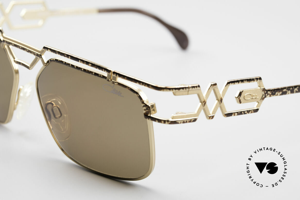 Cazal 973 90er Sonnenbrille Damen Herren, orig. Cazal Gläser mit UV PROTECTION Markierung, Passend für Herren und Damen