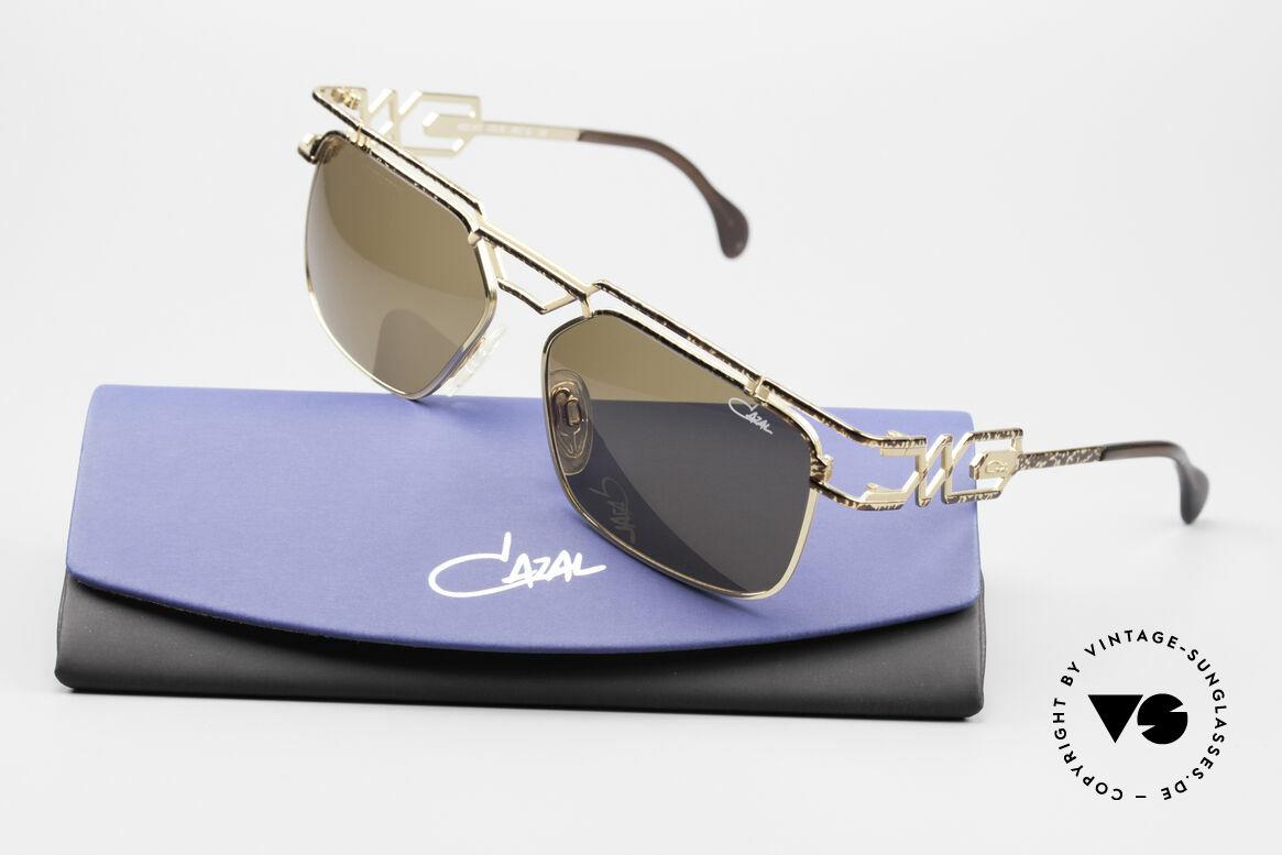 Cazal 973 90er Sonnenbrille Damen Herren, ein Highlight für alle Design- und Qualitätsliebhaber, Passend für Herren und Damen