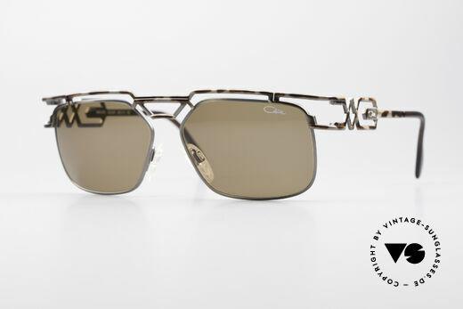 Cazal 973 90er Qualität Sonnenbrille Details