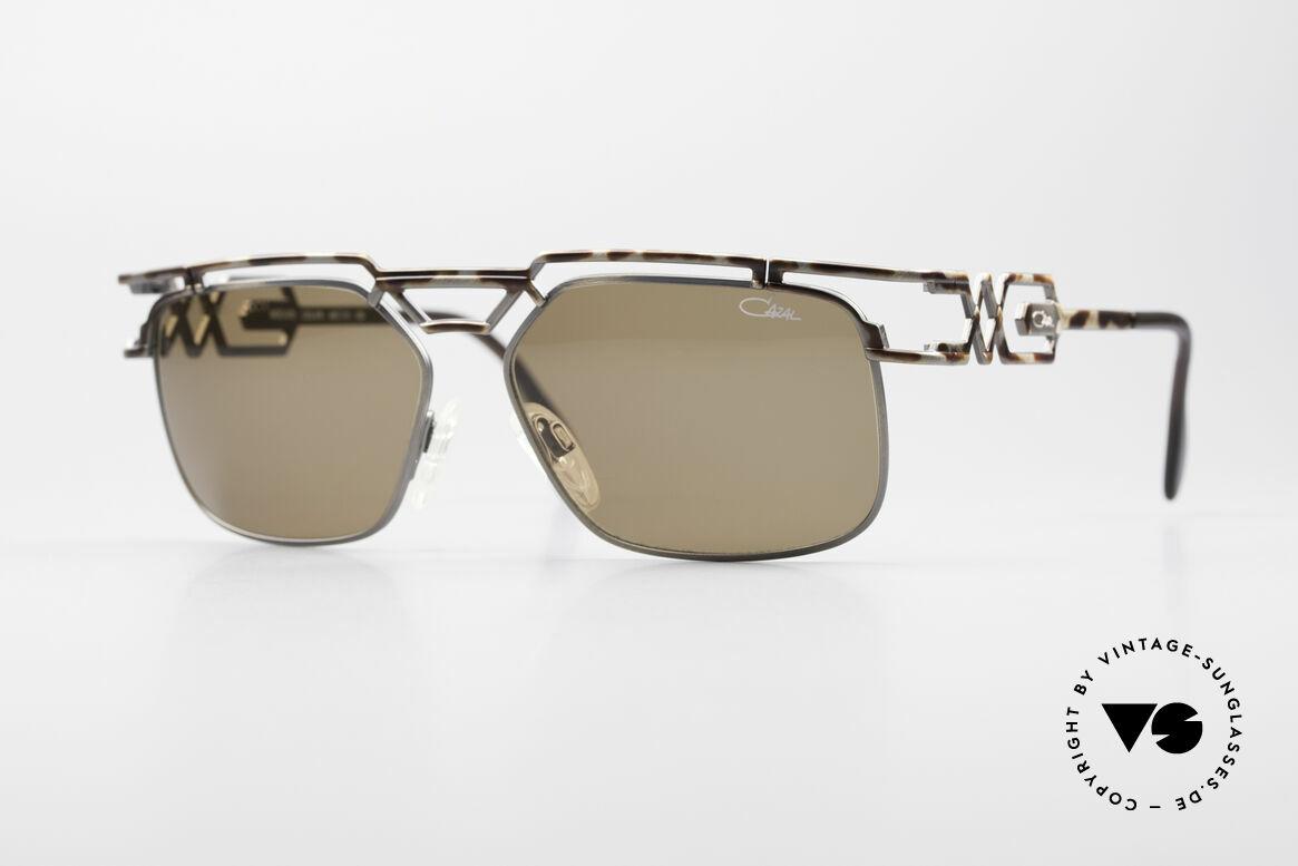 Cazal 973 90er Qualität Sonnenbrille, monumentale Cazal Designersonnenbrille von 1997, Passend für Herren und Damen
