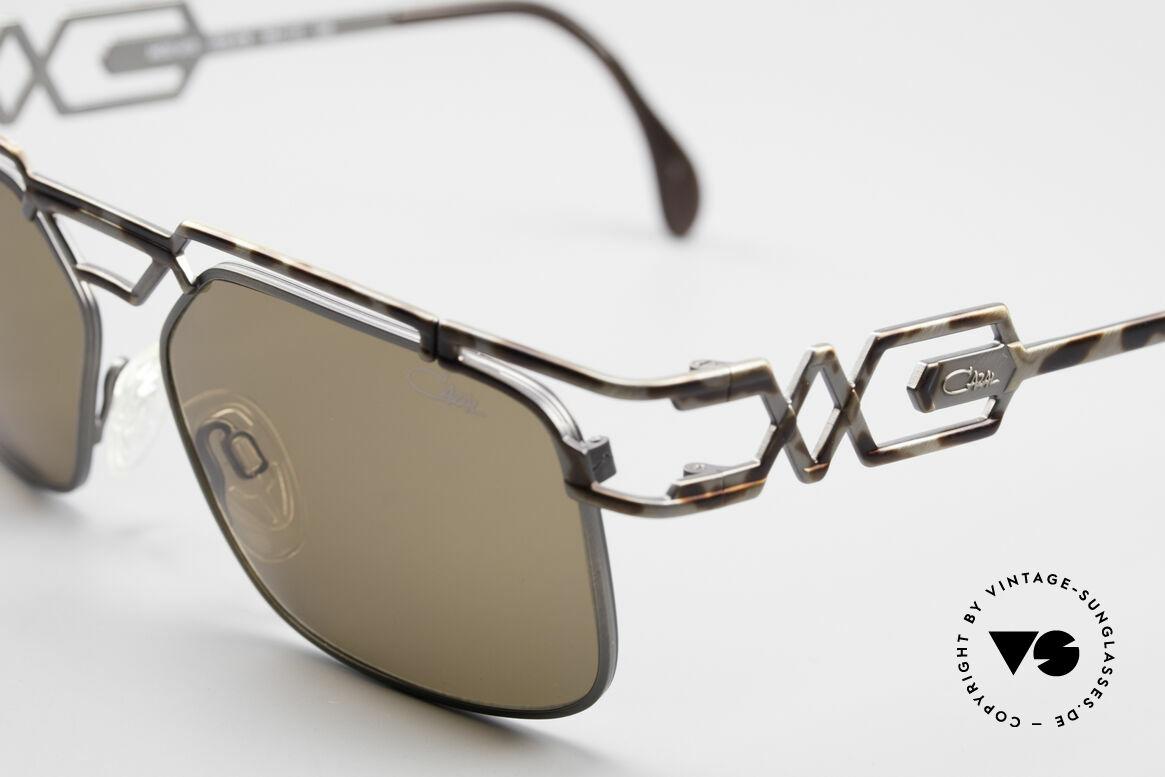 Cazal 973 90er Qualität Sonnenbrille, orig. Cazal Gläser mit UV PROTECTION Markierung, Passend für Herren und Damen