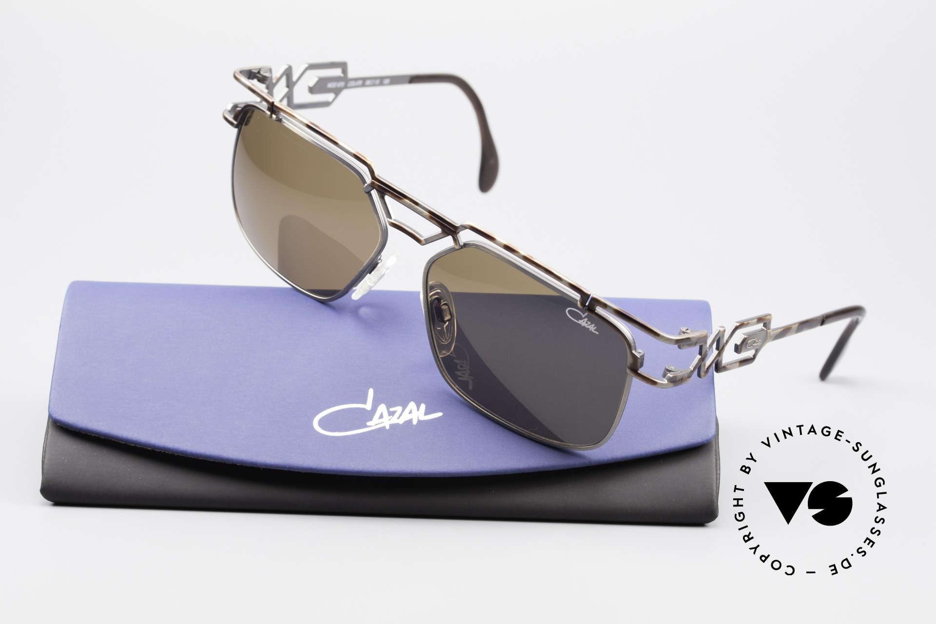 Cazal 973 90er Qualität Sonnenbrille, ein Highlight für alle Design- und Qualitätsliebhaber, Passend für Herren und Damen