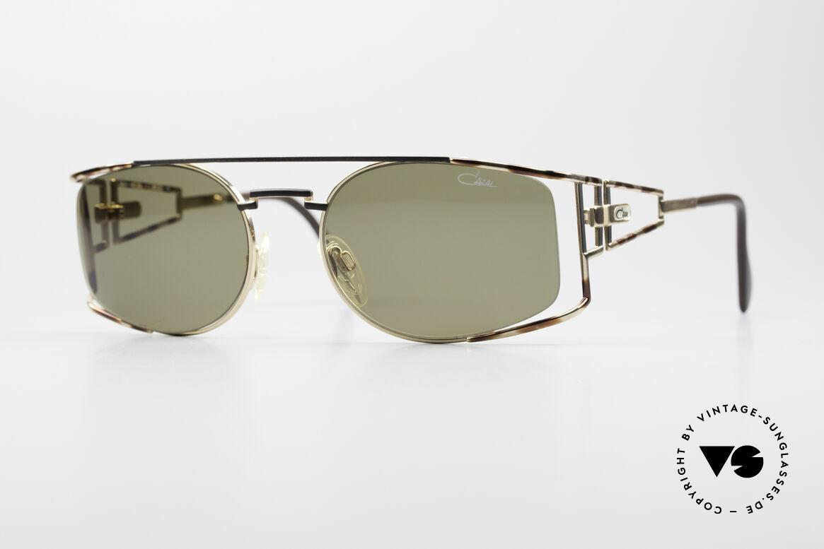 Cazal 967 Rare 90er Markensonnenbrille, edle CAZAL Designer-Sonnenbrille der frühen 1990er, Passend für Herren und Damen