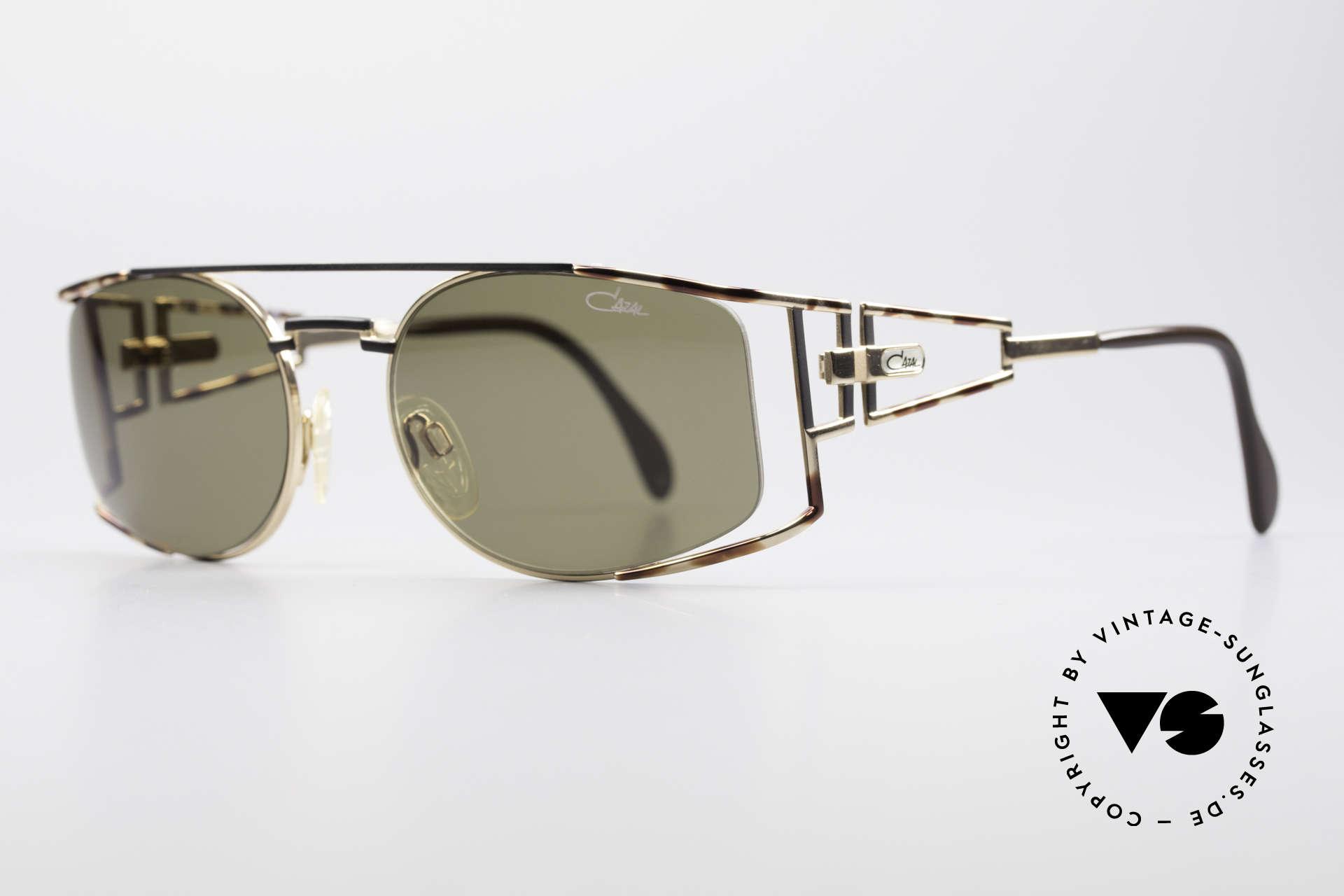 Cazal 967 Rare 90er Markensonnenbrille, aufwändige und handgearbeitete Rahmen-Lackierung, Passend für Herren und Damen