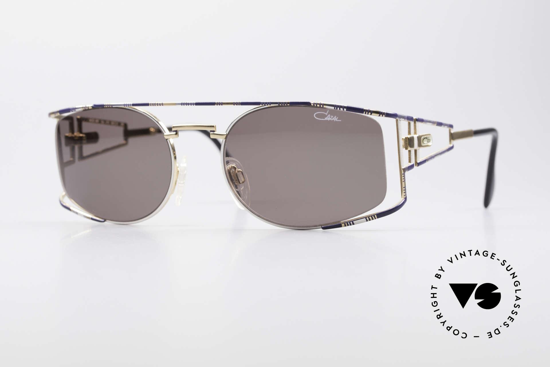 Cazal 967 Vintage Markensonnenbrille, edle CAZAL Designer-Sonnenbrille der frühen 1990er, Passend für Herren und Damen