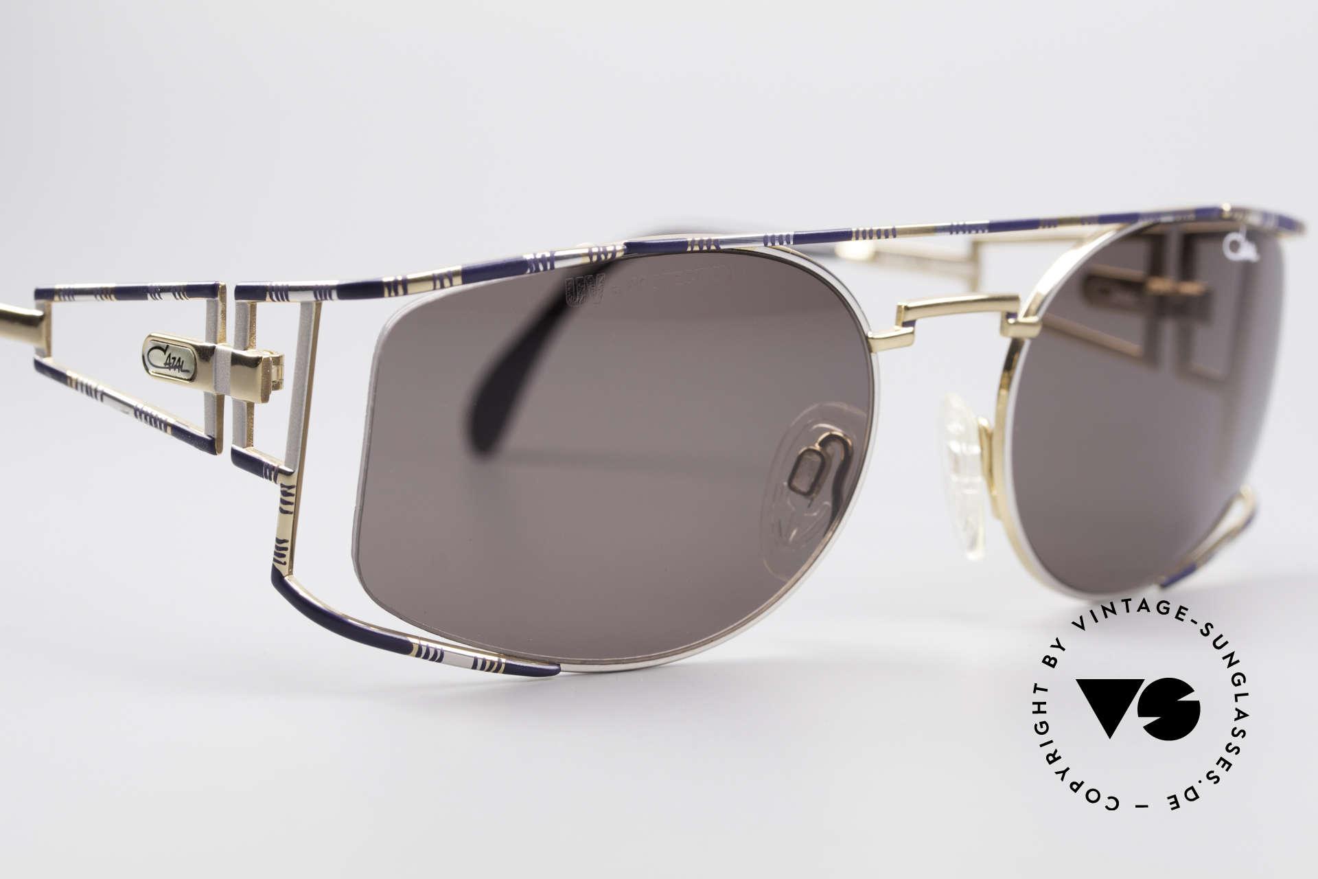 Cazal 967 Vintage Markensonnenbrille, ungetragen (wie alle unsere orig. Cazal Sonnenbrillen), Passend für Herren und Damen