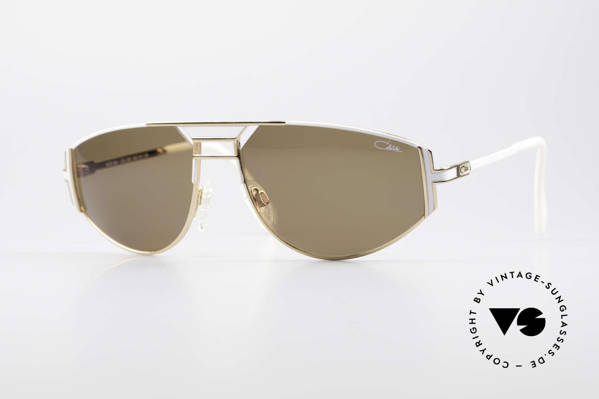 Cazal 964 Echte Vintage Sonnenbrille, original Cazal vintage Designersonnenbrille von 1994, Passend für Herren und Damen