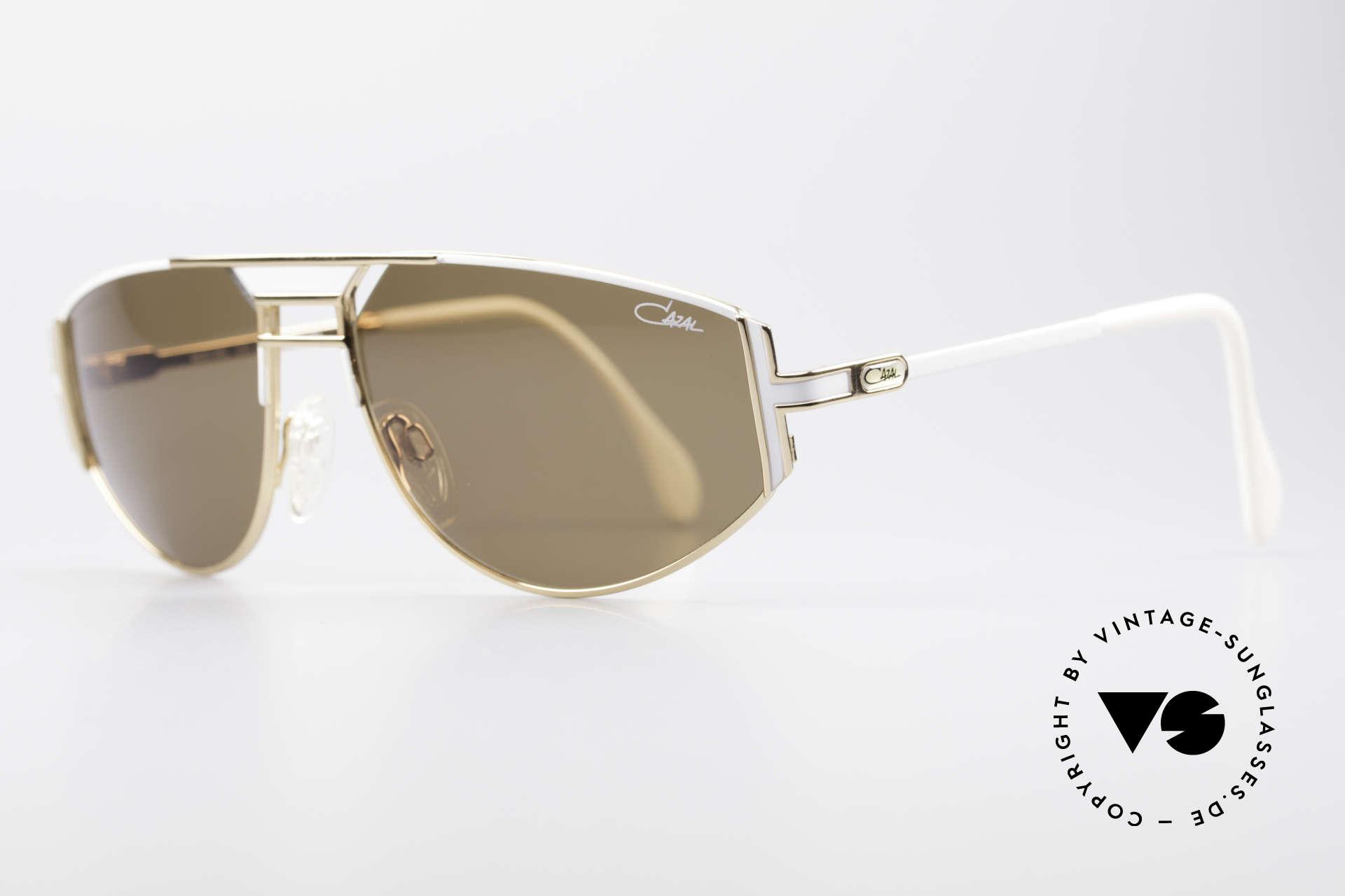 Cazal 964 Echte Vintage Sonnenbrille, großartige Brillen-Kreation von CAri ZALloni (CAZAL), Passend für Herren und Damen