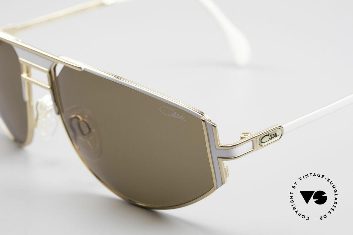 Cazal 964 Echte Vintage Sonnenbrille, dezent sportlich und auffallend individuell zugleich, Passend für Herren und Damen