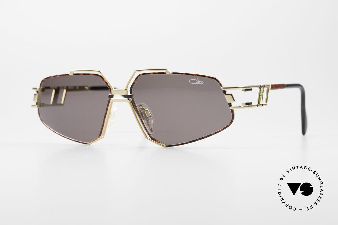 Cazal 961 Designer Vintage Sonnenbrille, extravagante CAZAL vintage Sonnenbrille von 1992, Passend für Herren und Damen