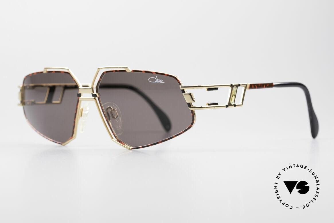 Cazal 961 Designer Vintage Sonnenbrille, markante Rahmenkonstruktion; made in GERMANY, Passend für Herren und Damen