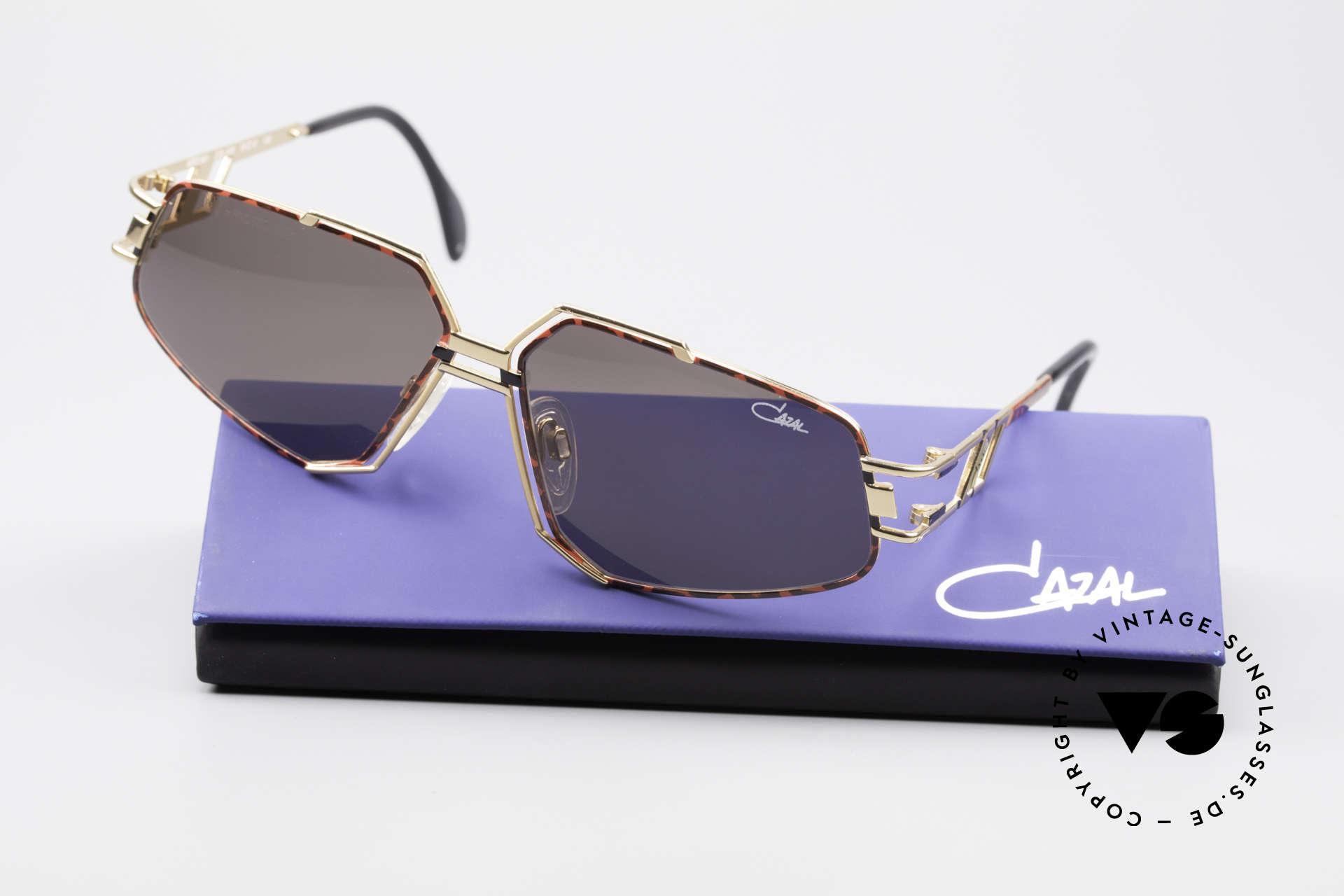 Cazal 961 Designer Vintage Sonnenbrille, KEINE Retrosonnenbrille; ein 25 Jahre altes Original!, Passend für Herren und Damen