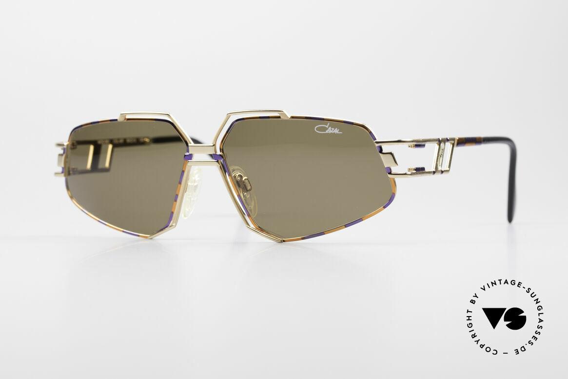 Cazal 961 Vintage Designer Sonnenbrille, extravagante Cazal vintage Sonnenbrille von 1992, Passend für Herren und Damen