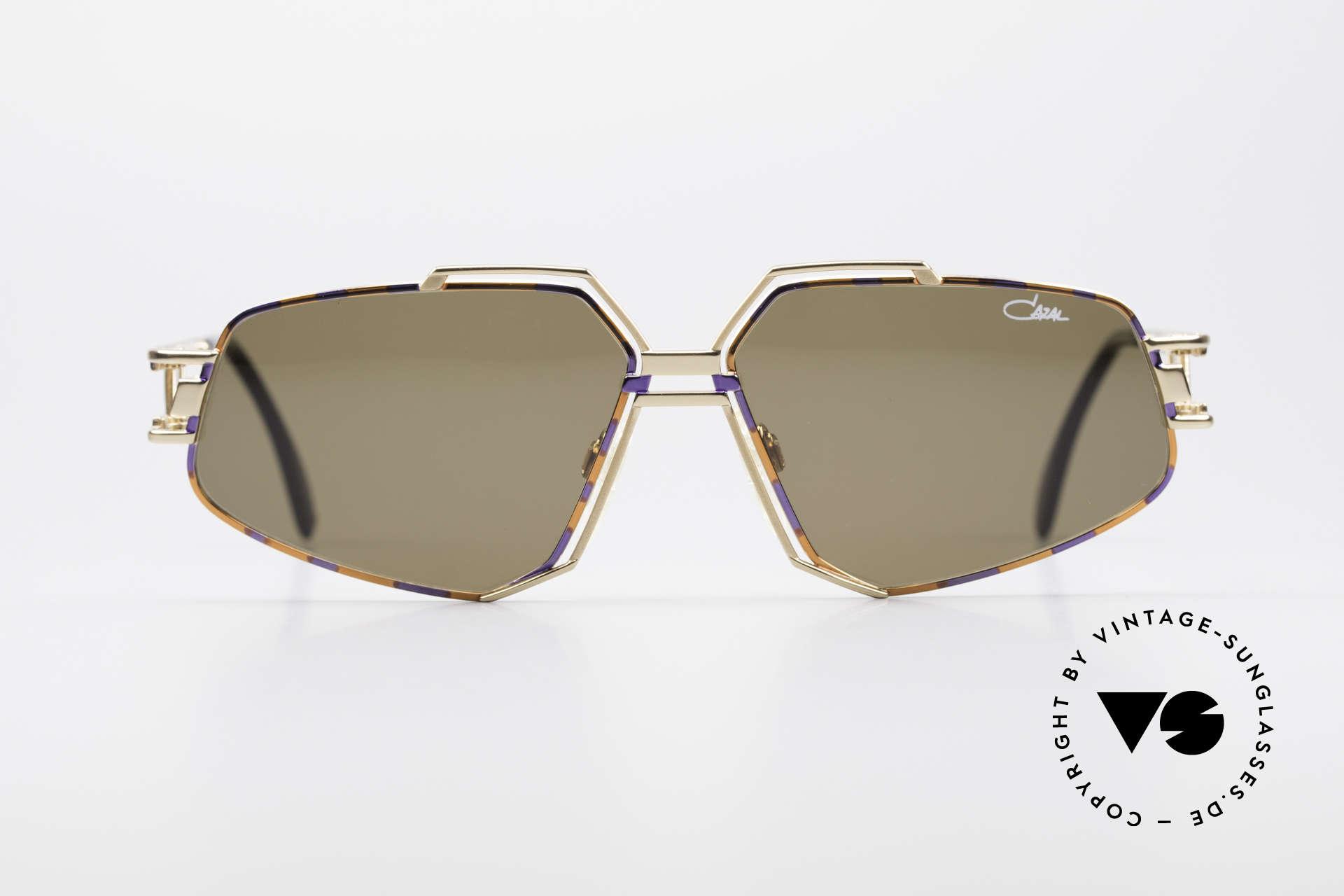 Cazal 961 Vintage Designer Sonnenbrille, großartiges Design von CAri ZALloni (Mr. CAZAL), Passend für Herren und Damen