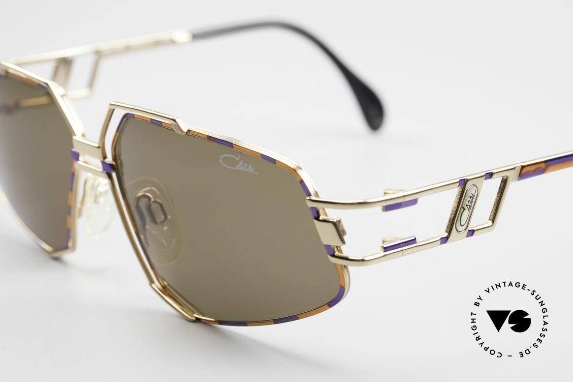 Cazal 961 Vintage Designer Sonnenbrille, damals wie heute ein begehrtes Hip-Hop-Accessoire, Passend für Herren und Damen