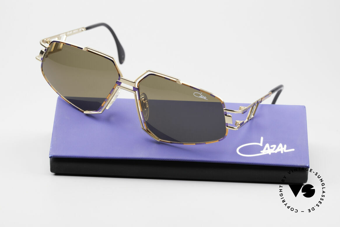 Cazal 961 Vintage Designer Sonnenbrille, KEINE Retrosonnenbrille; ein 25 Jahre altes Original, Passend für Herren und Damen