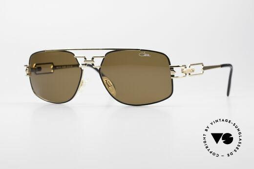 Cazal 972 Echt 90er No Retro Sonnenbrille Details