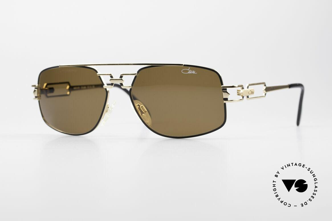 Cazal 972 Echt 90er No Retro Sonnenbrille, orig. 90er CAZAL Designer-Sonnenbrille; echt vintage!, Passend für Herren und Damen