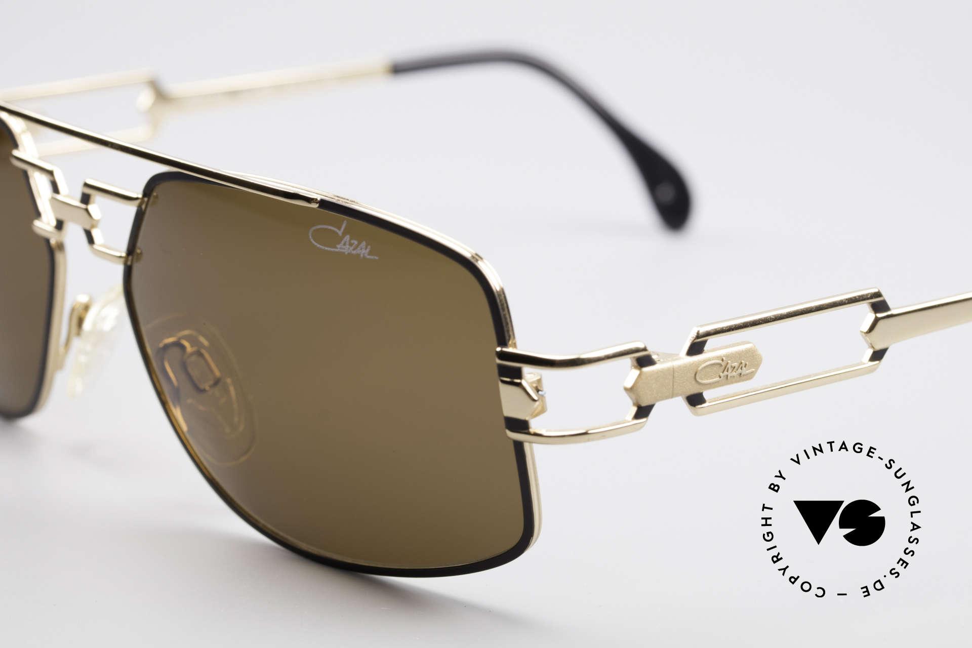 Cazal 972 Echt 90er No Retro Sonnenbrille, ungetragen; wie alle unsere vintage CAZAL 90er Brillen, Passend für Herren und Damen
