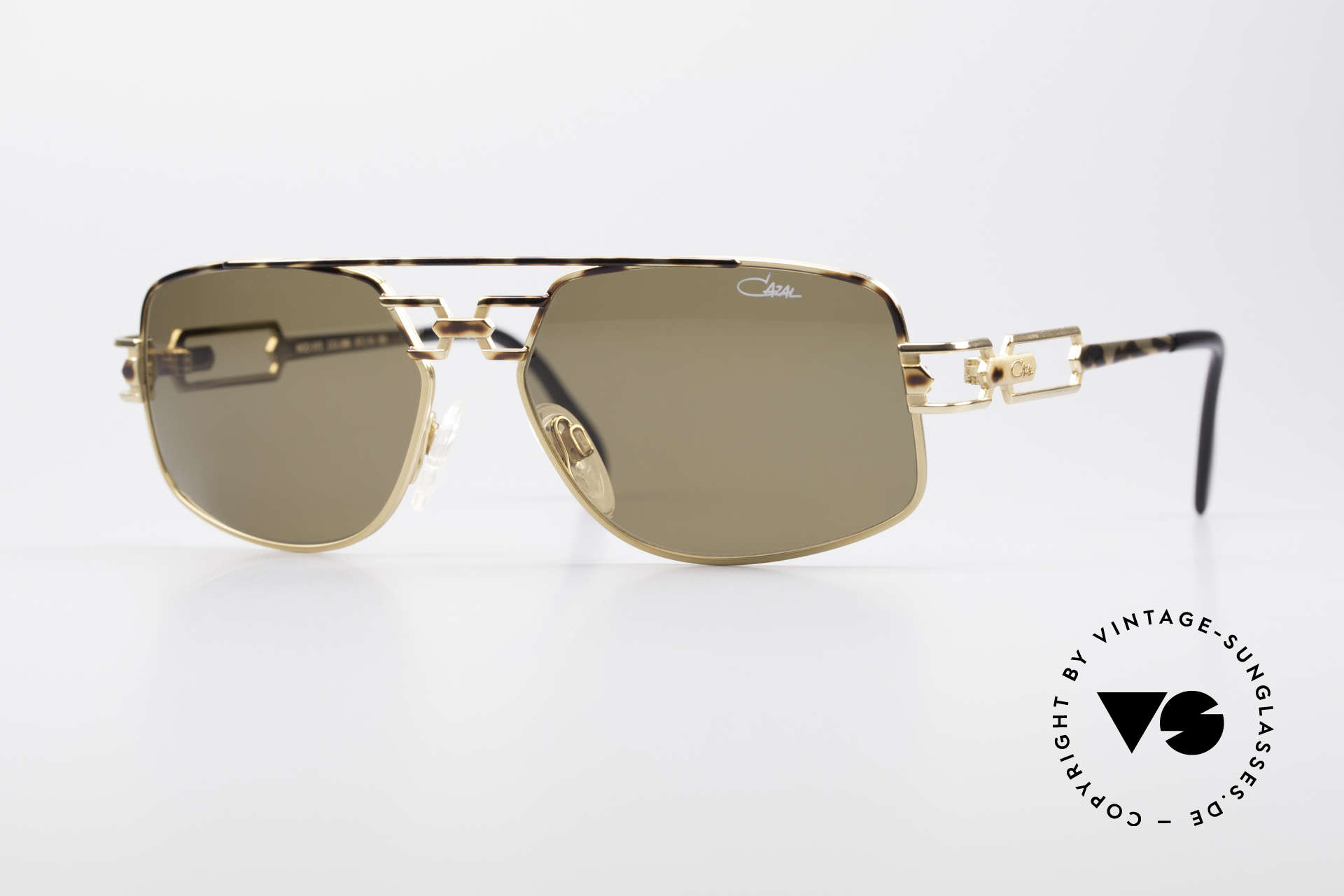 Cazal 972 Designer Sonnenbrille 90er, orig. 90er CAZAL Designer-Sonnenbrille; echt vintage!, Passend für Herren und Damen
