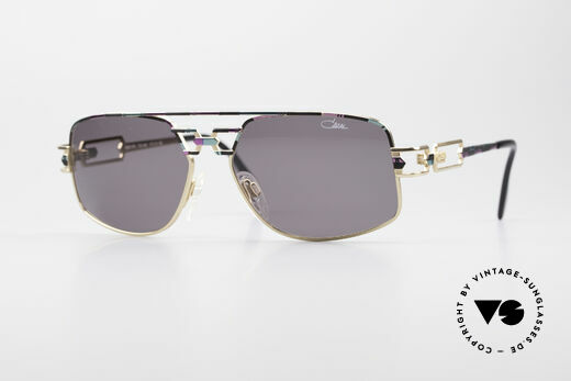 Cazal 972 No Retro Brille True Vintage Details