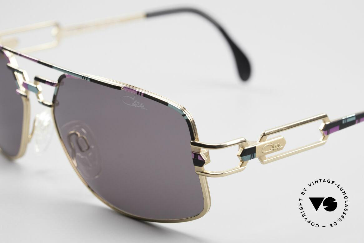 Cazal 972 No Retro Brille True Vintage, ungetragen (wie alle unsere vintage Cazal 90er Modelle), Passend für Herren und Damen