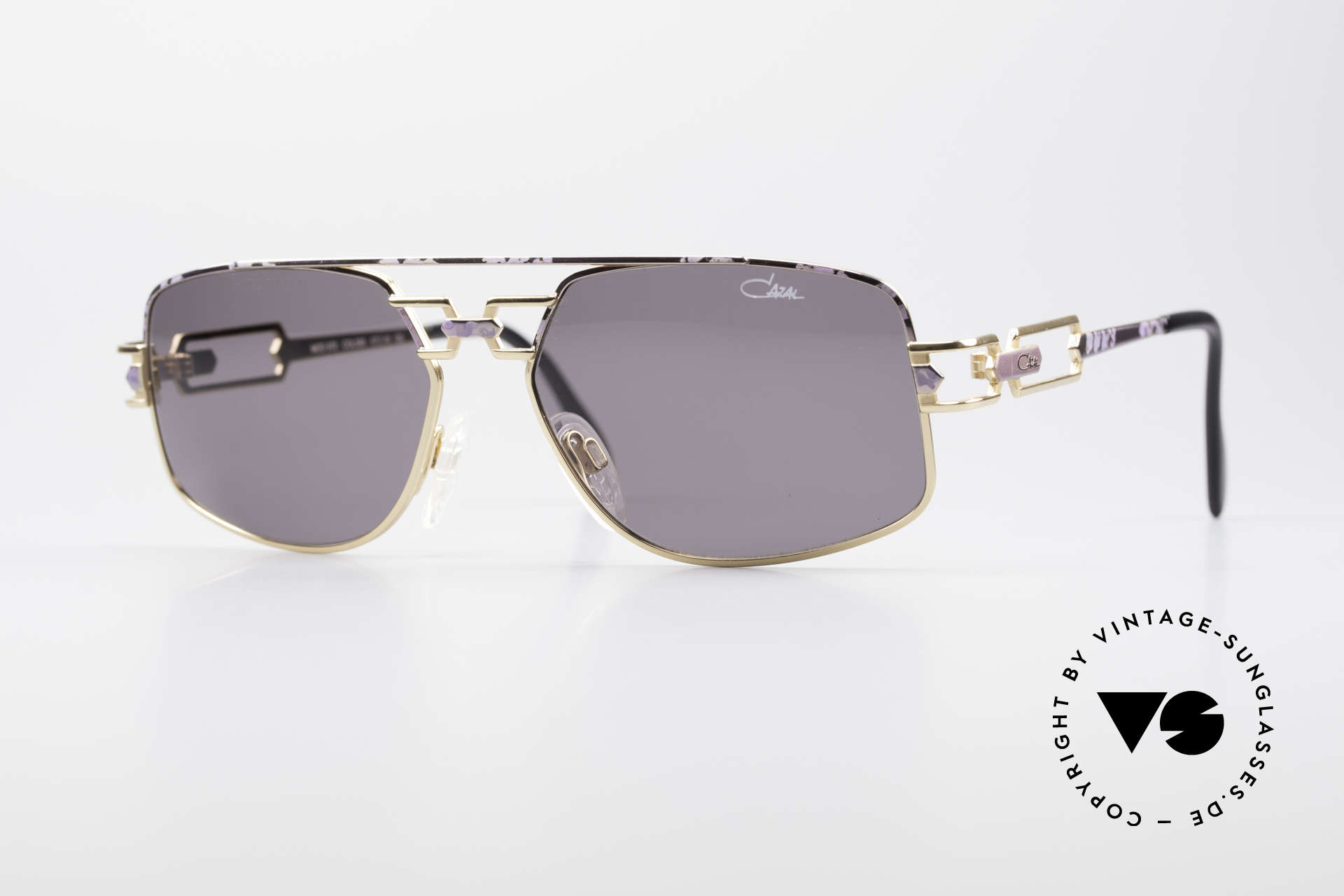 Cazal 972 True Vintage Brille No Retro, 90er Cazal Original Designer-Sonnenbrille; echt vintage, Passend für Herren und Damen