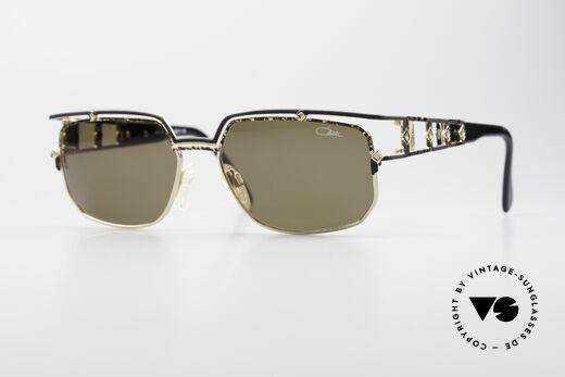 Cazal 979 Vintage Sonnenbrille Damen Details