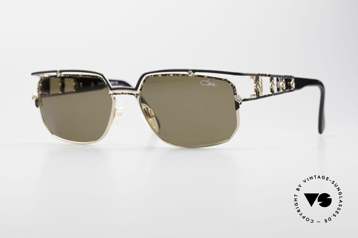 Cazal 979 Vintage Sonnenbrille Damen, edle DESIGNER-Sonnenbrille aus dem Hause CAZAL, Passend für Damen