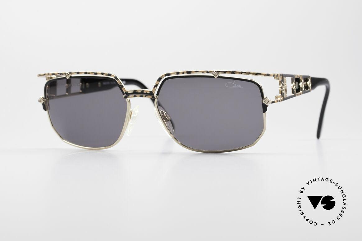 Cazal 979 Vintage Damen Sonnenbrille, edle DESIGNER-Sonnenbrille aus dem Hause CAZAL, Passend für Damen