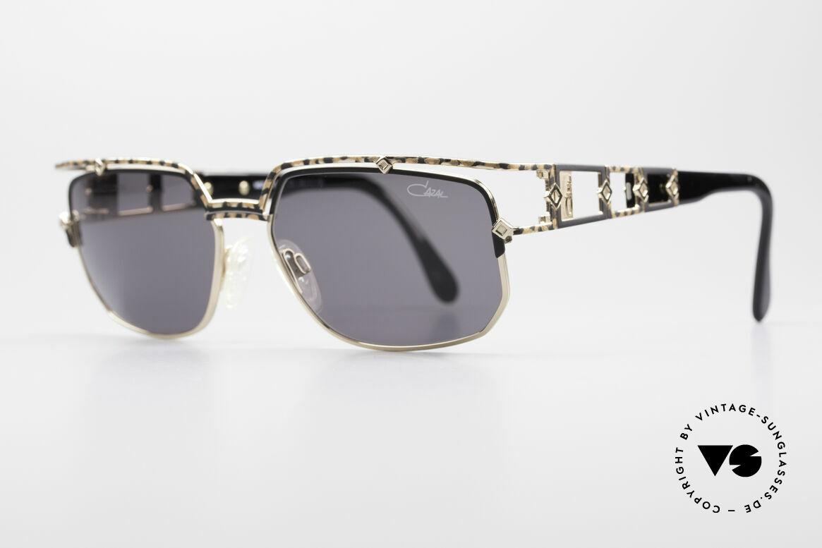 Cazal 979 Vintage Damen Sonnenbrille, Top-Qualität 'made in GERMANY' aus dem Jahre 1997, Passend für Damen