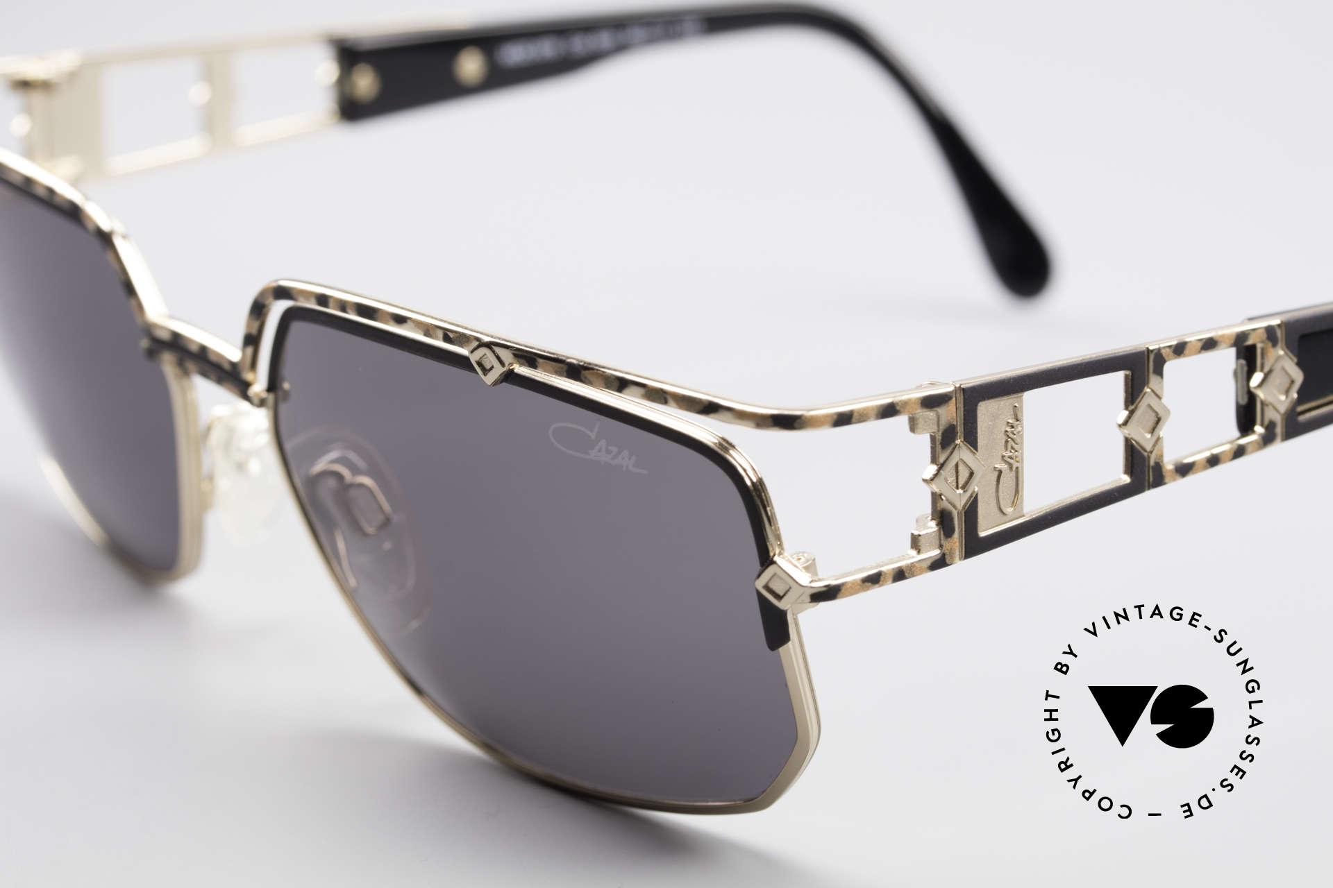 Cazal 979 Vintage Damen Sonnenbrille, heutzutage nur noch sehr selten zu finden; RARITÄT!, Passend für Damen