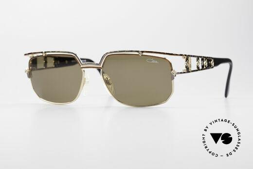 Cazal 979 Damen Sonnenbrille Vintage Details