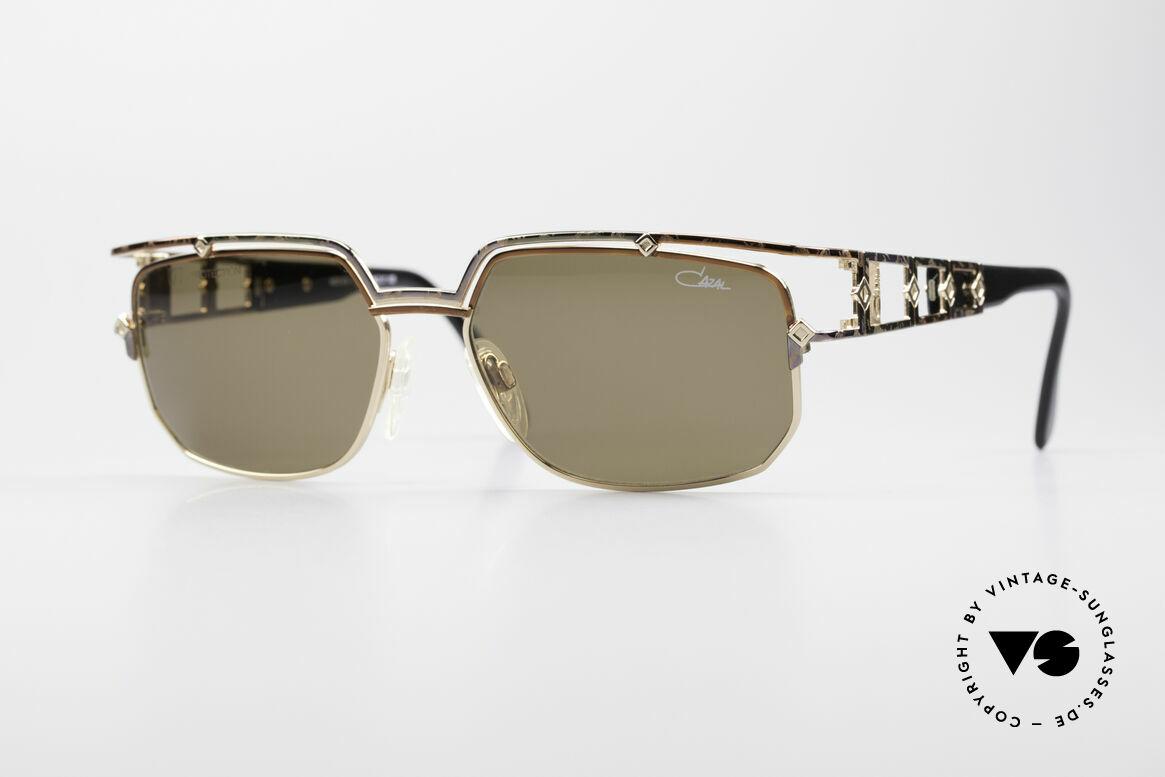 Cazal 979 Damen Sonnenbrille Vintage, edle DESIGNER-Sonnenbrille aus dem Hause CAZAL, Passend für Damen
