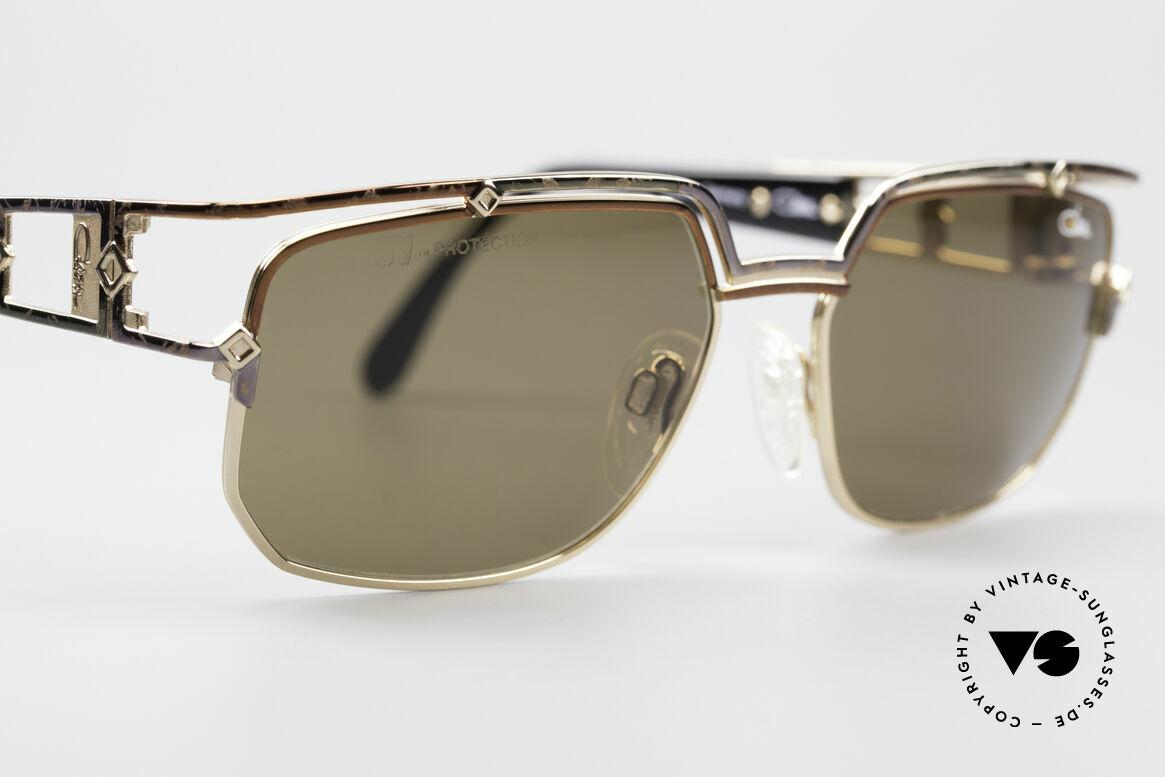 Cazal 979 Damen Sonnenbrille Vintage, ungetragen (wie alle unsere 90er Cazal vintage Brillen), Passend für Damen